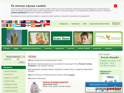 Aloes Forever Living Products - Wrocław